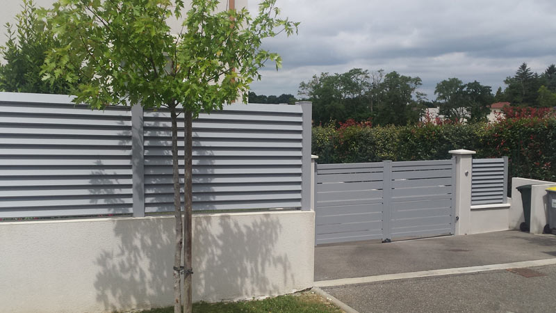 Cheap d co cloture en composite mulhouse cloture pvc cloture jardin prix cloture composite - Cloture alu brico depot ...
